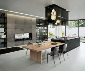 sophisticated contemporary kitchens with cutting edge design 25 modern kitchens in wooden finish digsdigs