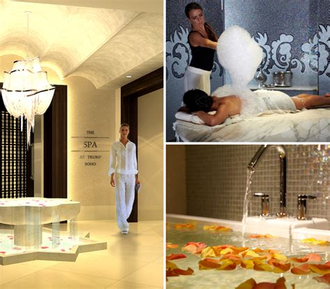 trump soho bathroom the best spa bath treatments health wellness spa the