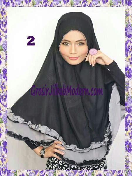 Khimar Rempel Resty Jilbab Khimar Grosir Jilbab Instant Murah jilbab khimar cantik yasmine
