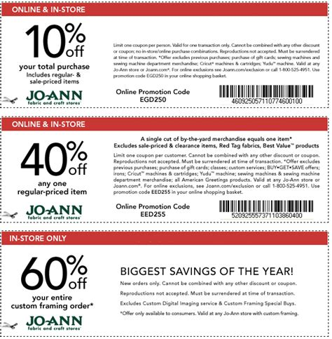printable joann fabric coupons 2012 printable coupons joann coupons