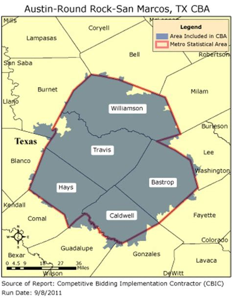 zip code map round rock tx cbic round 2 competitive bidding area austin round
