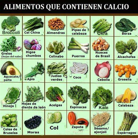 alimentos alto contenido en calcio salud con sentidos los beneficios de tomar el calcio de