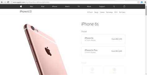 iphone   iphone   official prices  malaysia