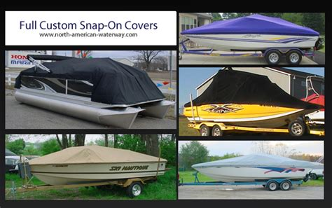 boat covers that snap on custom snap on boat covers north american waterway blog
