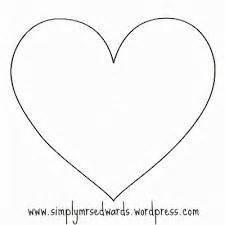 imagenes de corazones moldes resultado de imagen para molde de corazon para imprimir