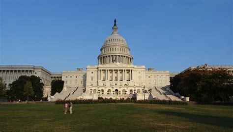 Us Government File Us Capitol During Government Shutdown West Side