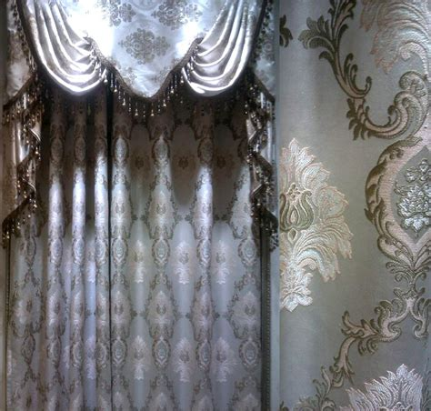 crystal curtains wholesale curtains home application embroidery lace curtain luxury