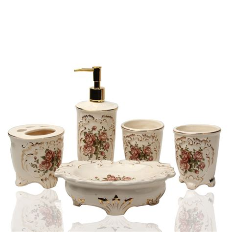 ceramic bathroom accessories set elegant bathroom sets elegant bathroom accessories sets decorating bathroom