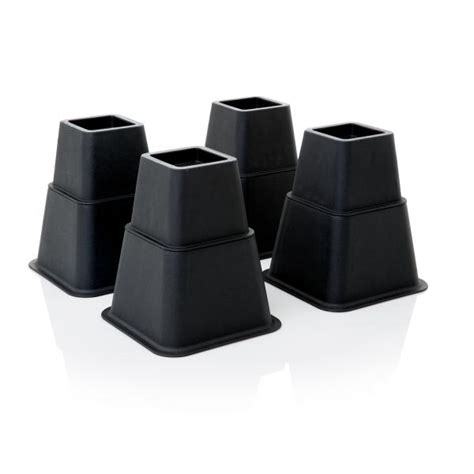 adjustable bed risers adjustable bed risers by structures 174 linenspa