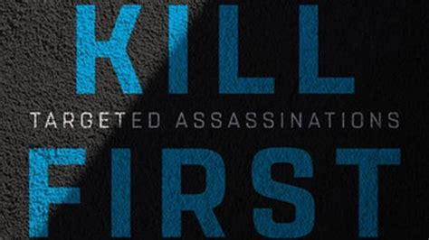 rise and kill the secret history of israel s targeted assassinations books book reveals zionist israel has most robust assassination