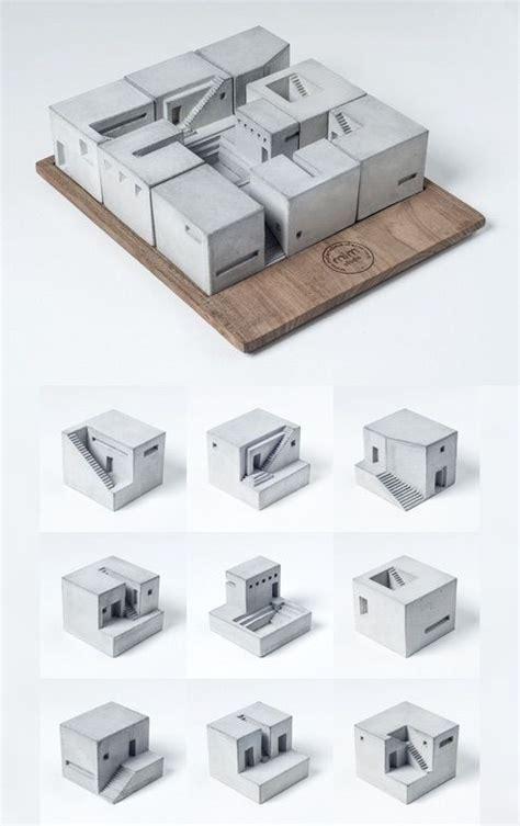 design concept making concrete cubes mati 232 re arquitectura maquetas