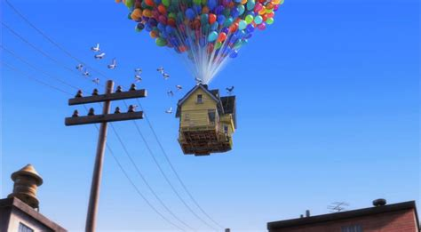 film up sky fan of pixar movie up takes to the skies in a house by