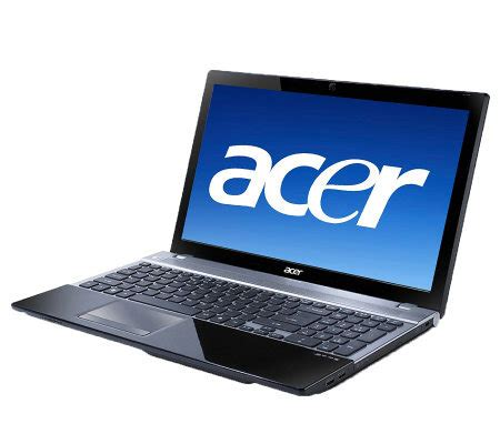 Laptop I7 Ram 6gb acer aspire 15 6 quot notebook i7 6gb ram 750gb hd qvc