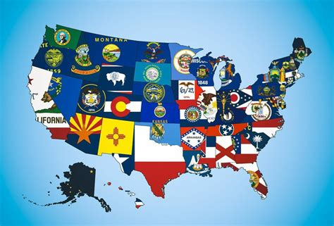 flags of the world ranked a totally hilarious ranking of all 50 state flags