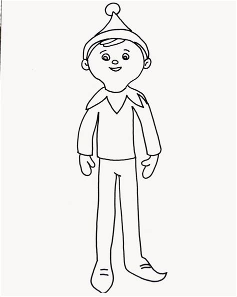 boy elf on the shelf coloring pages to print elf coloring pages for adults coloring pages