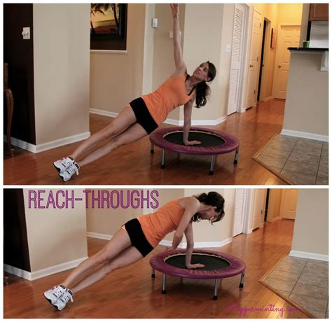 rebounder exercises fitness