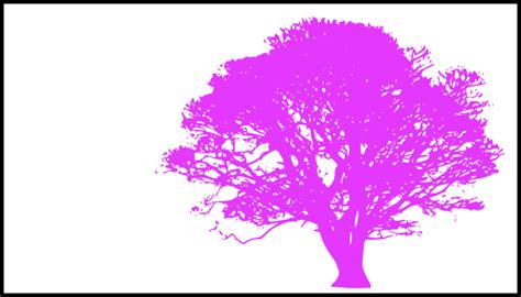 purple and white tree tree purple silhouette white background clip