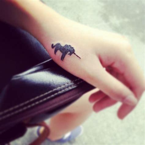 finger tattoo unicorn 70 intriguing unicorn tattoos