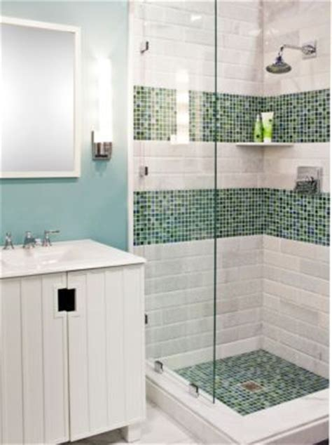 bathroom tile vertical stripe the shower but maybe just one vertical stripe of