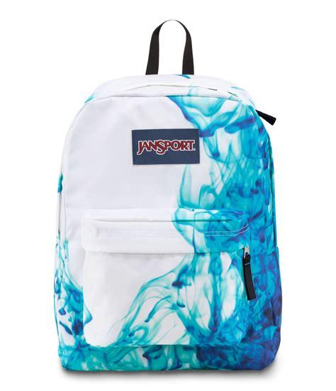 Apple Home Decor Accessories by Jansport Superbreak Backpack Multi Blue Drip Dye