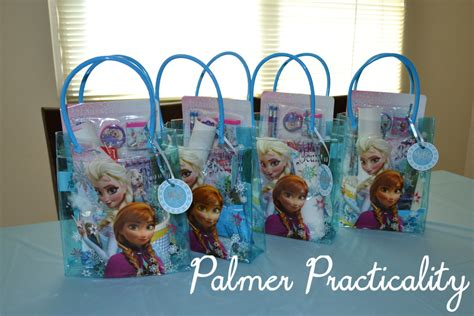 palmer practicality frozen birthday ideas