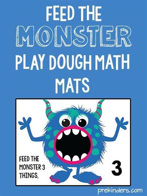 printable playdough math mats monster play dough math mats metals plays and jewelry