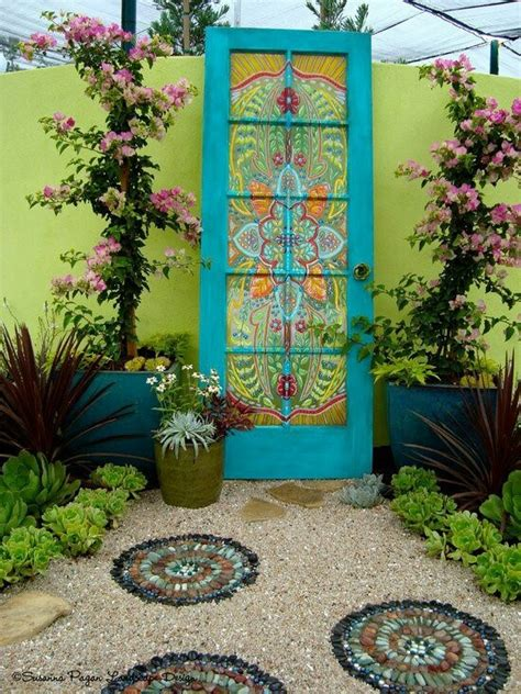 Wall Decor For Gardens Mosaic Garden Decor Garden Wall