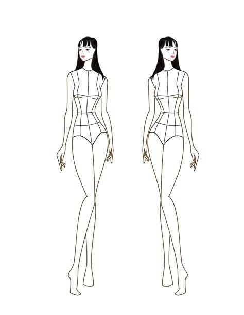 textiles templates figures como desenhar croquis de moda 9 passos umcomo