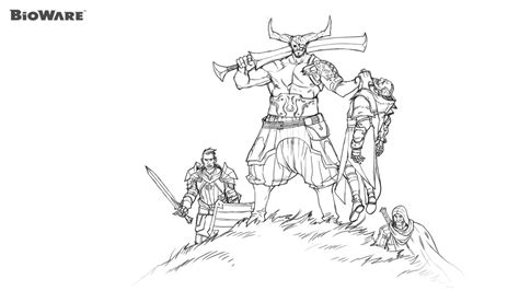 5 Solas Coloring Page by Coloring Age 2 Bioware