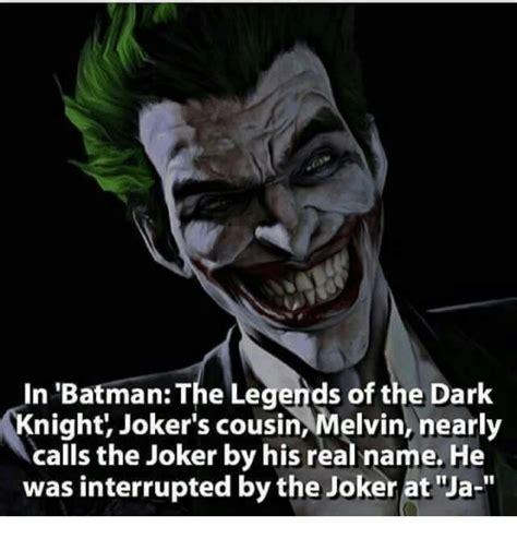 Dark Knight Joker Meme - in batman the legends of the dark knight joker s cousin