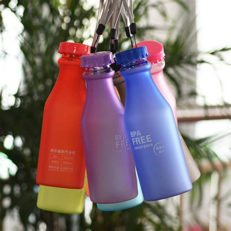 Botol Minum Bpa Free Colorful Unbreakable Bottle 350ml Sm 8033 botol minum bpa free 550ml yellow jakartanotebook