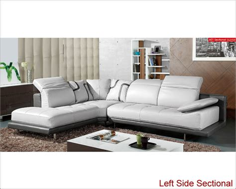 Sectional Sofa Ls Modern Sectional Sofa Set In Grey Finish 33ls31