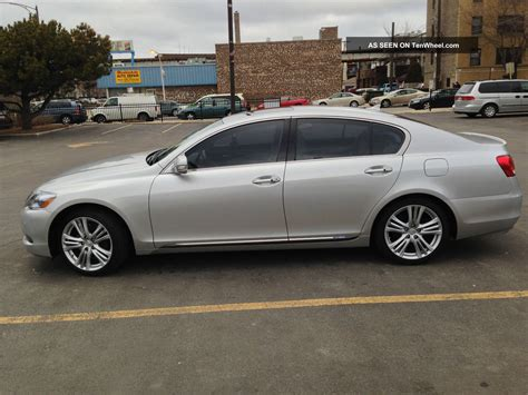 2008 Lexus Gs450h Base Sedan 4 Door 3 5l