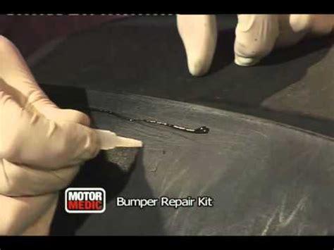 fiberglass reparatie bumper repair kit by motor medic youtube