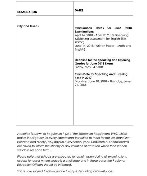 Jamaica Calend 2018 Jamaica Calendar Of School Terms Holidays For The