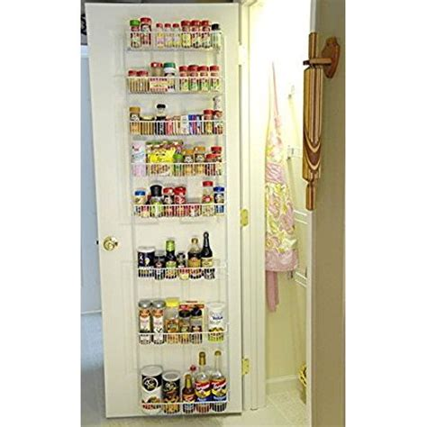 Narrow The Door Pantry Organizer by 18 Inch Wide Adjustable Door Rack Pantry Organizer
