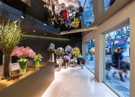 flower store flower shop in shanghai by alberto caiola yellowtrace