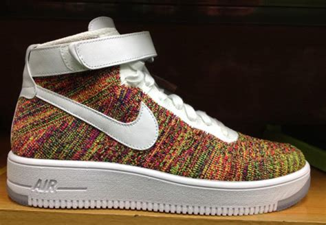 Nike Flyknite 1 nike air 1 flyknit quot multi color quot sneakernews
