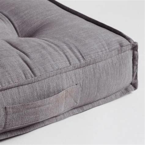 tufted floor cushion gray khadi tufted floor cushion world market