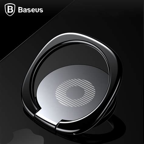Baseus Luxury Phone Ring Desk Stand Holder Fit For Magnetic Car aliexpress buy baseus universal mobile phone stand 360 finger ring desk stand holder fit