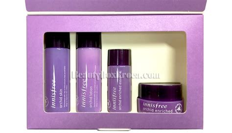 Harga Innisfree Orchid Enriched 10ml box korea mini innisfree orchid special kit