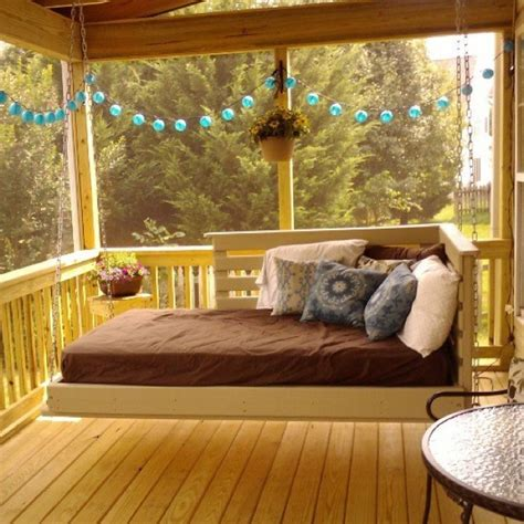 twin bed porch swing porch swing bed pinterest woodworking projects plans