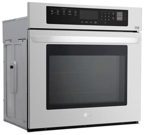 lg 30 wall oven lwd3081 house appliances home kitchen for lws3063st lg appliances 30 quot 4 7 cu ft self clean