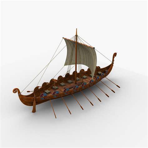 viking game boats 3d viking ship boats model barco vikingo pinterest