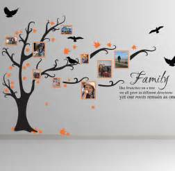 family tree bird art wall stickers quotes decals ft1 ebay family tree wall art decal stickythings co za
