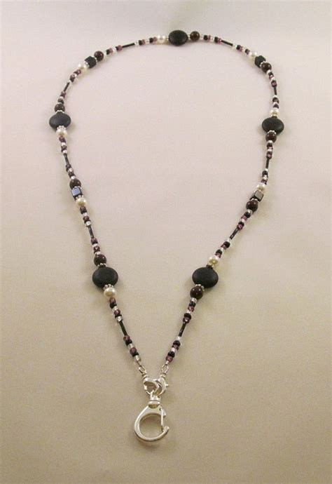 how to make a beaded lanyard necklace 59 best images about lanyards id beaded necklaces on