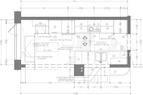 kitchen floor plans exles floor plan construction document corey klassen interior