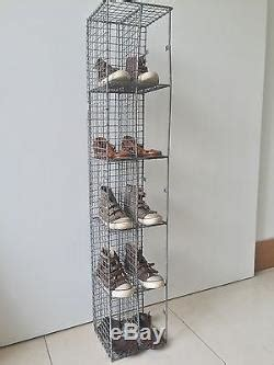 Bathroom Shoo Rack by Vintage Pigeon Corner Unit Mesh Wire Bathroom Shoe