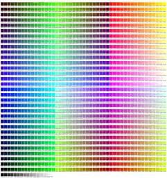 html color list html color chart