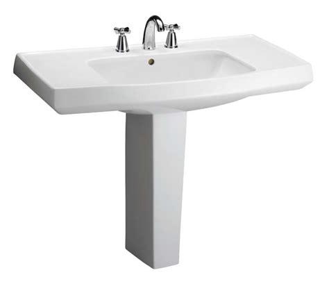 pedestal sink with counter space barclay porcelain regular and corner pedestal sinks